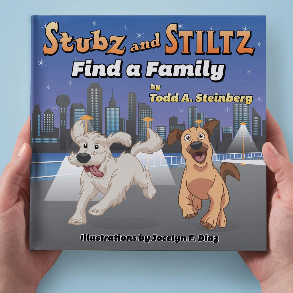 Wholesale Stuffed Animals -  Stubz and Stiltz Find a Family (Paperback)  -  RM1