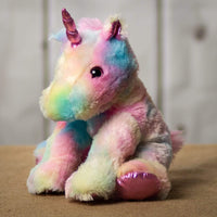 "Wholesale Stuffed Animals -  11"" Colorful Unicorn Medley  -  V190"