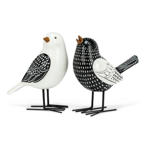 Folk Styled Bird Figures