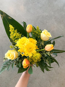 Sunburst Hand-Tied Bouquet