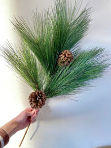 Pine Pick with Pine Cones