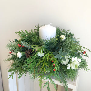 Whimsical Winter Centrepiece