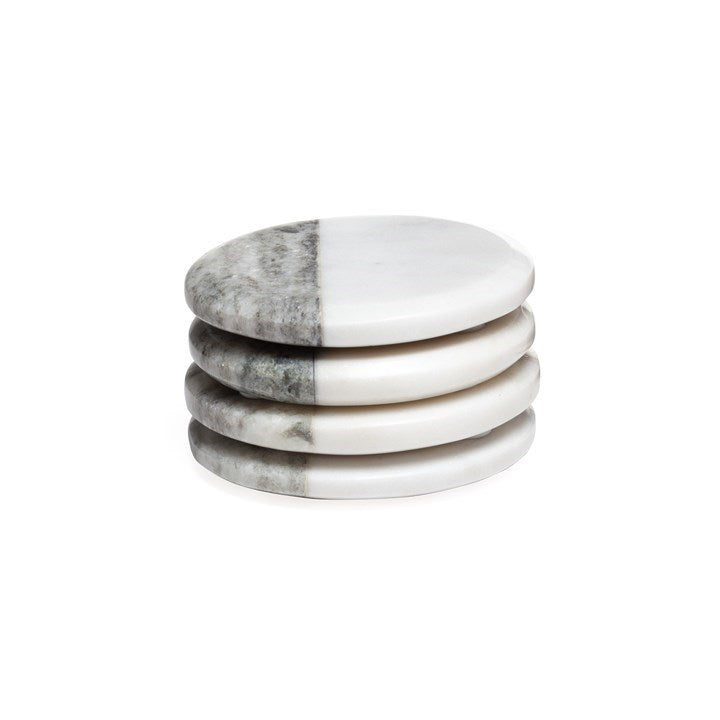 Two Tone Marble Coasters