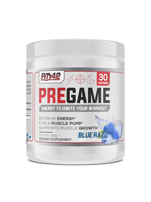 PreGame Blue Razz Workout Igniter