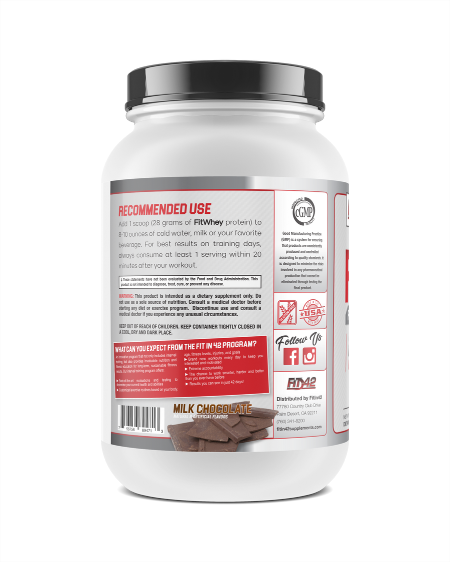 Milk Chocolate 2lb. Protein