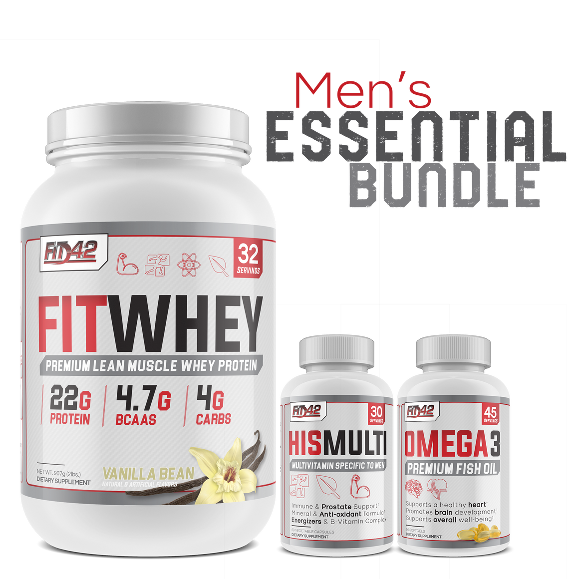 Men's Essential Bundle *BEST VALUE*