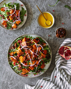 Thanksgiving Roasted Vegetable Salad