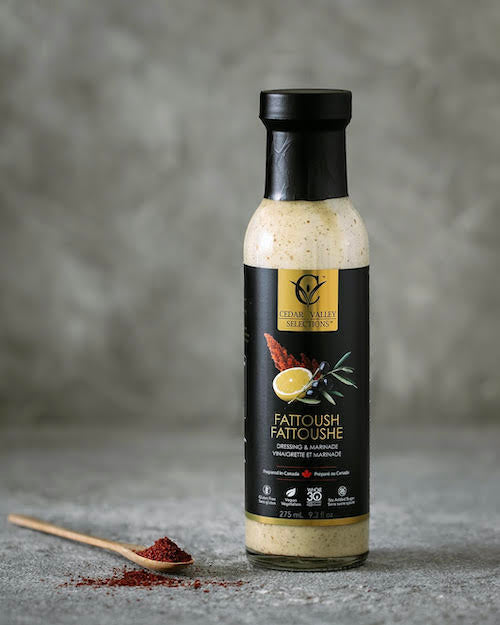 cedar valley selections fattoush dressing and sumac spice
