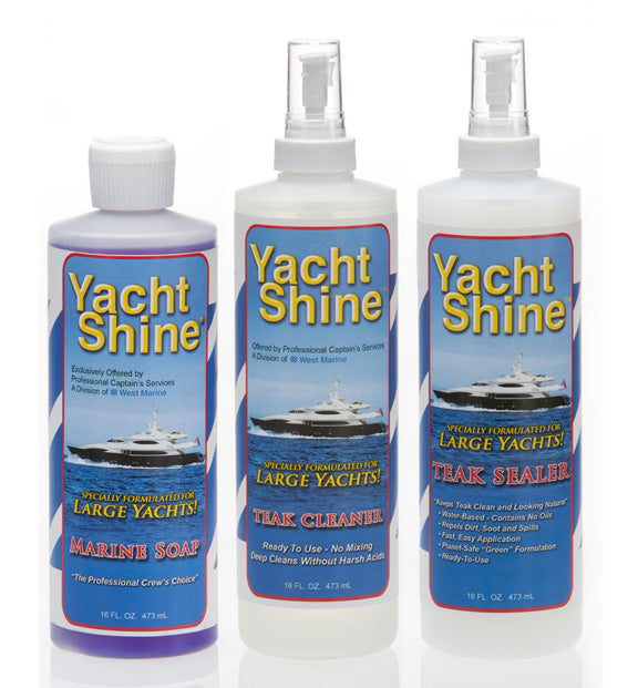 Yacht or Boat Teak Wood Maintenance System - Boat Cleaning Products