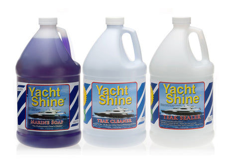 Yacht Shine Teak Maintenance System (Gallons)