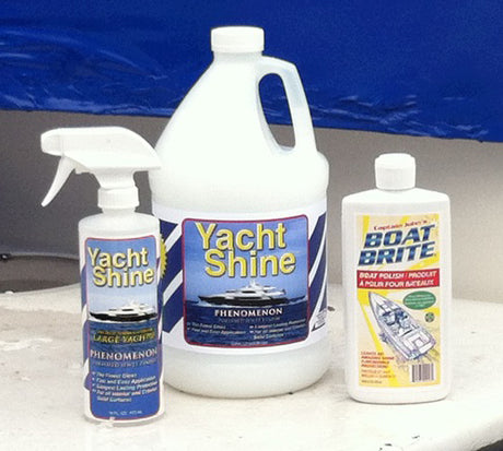 boat polish and yacht polish using green formulas safe for the environment