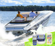 yacht shine boat polish