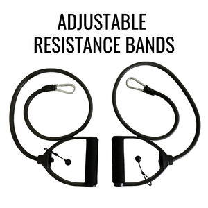 OTTO ADJUSTABLE RESISTANCE BANDS (SPHERES NOT INCLUDED)