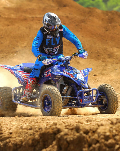 EVS Athlete Chad Wienen takes the win at the Pleasure Valley round of the ATV Motocross Nationals!