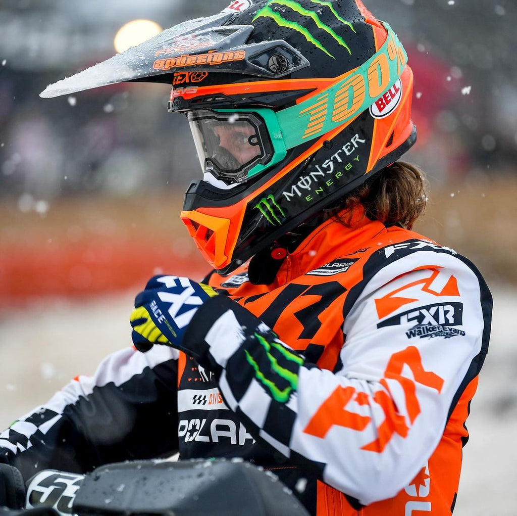 Kody Kamm focused and ready for the 2021 Snocross season finale!