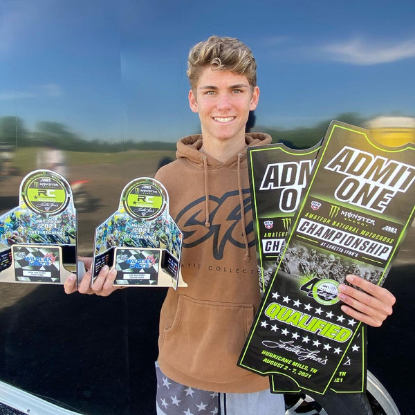 #TeamEVS athlete Jack Chambers has some big goals at Loretta's later this summer!