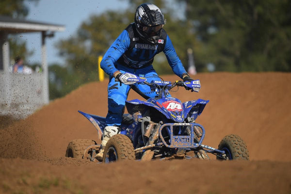 Chad Wienen on the gas at the final round of the 2020 ATV MX Pro National Championship!