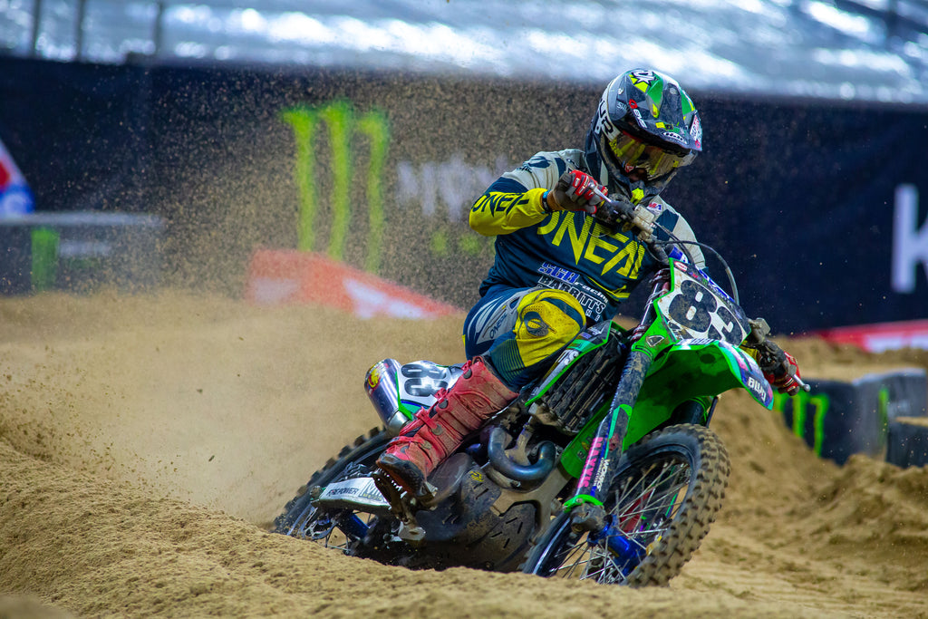 Alex Ray on the gas in the sand at H3!