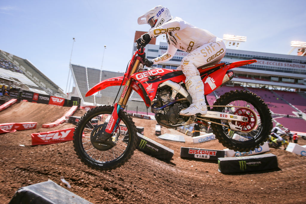 Chase Sexton win the East/West showdown in Salt Lake City and wins the 250 East Coast championship!