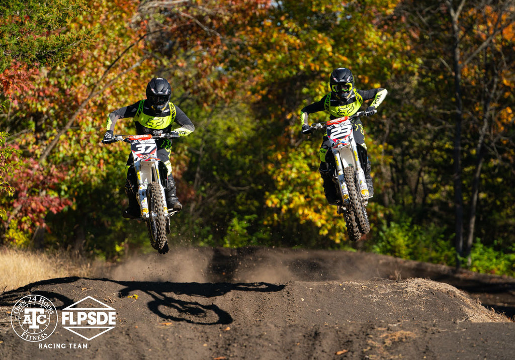 Jeff Crutcher and Brandon Yates in sync during the ATC FLPSDE photoshoot!