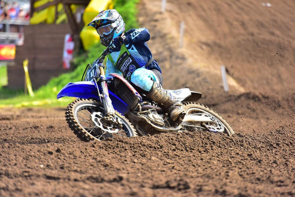 Chandler Baker on the gas at the 2020 Loretta Lynn's Amateur National Championships
