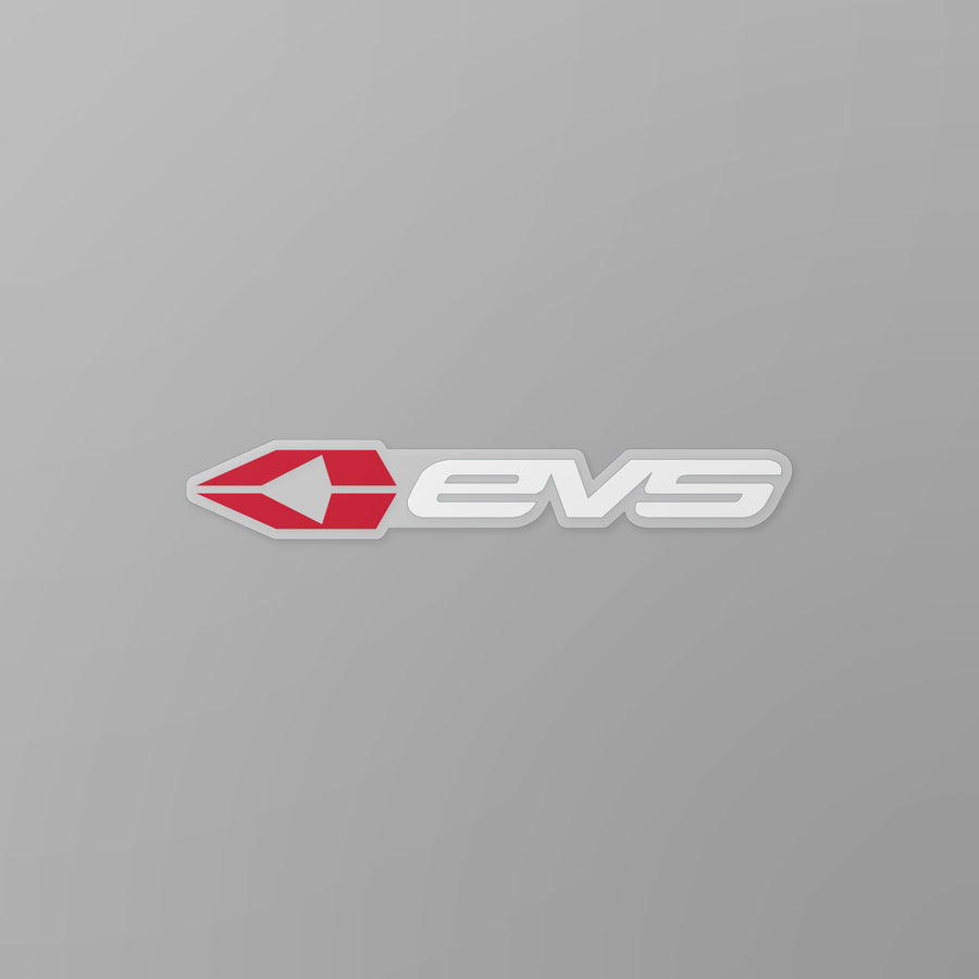 "EVS Sports - EVS Sports 5"" Sticker Red"