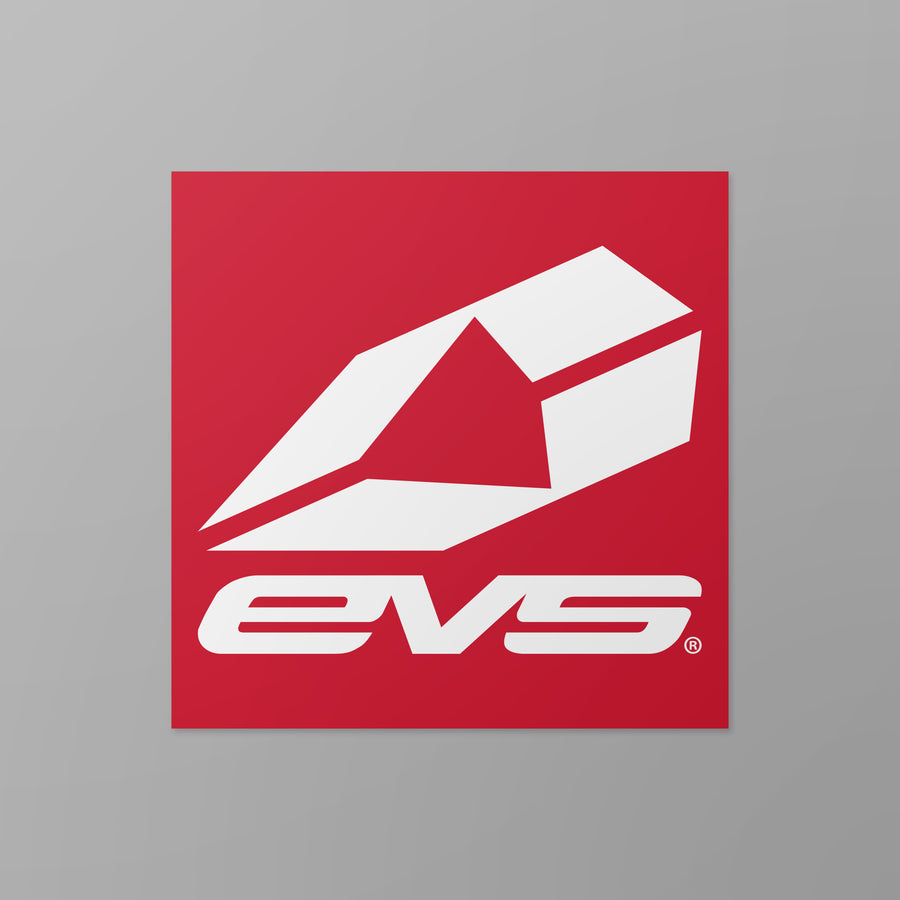"EVS Sports - EVS Sports 4"" Icon Sticker"