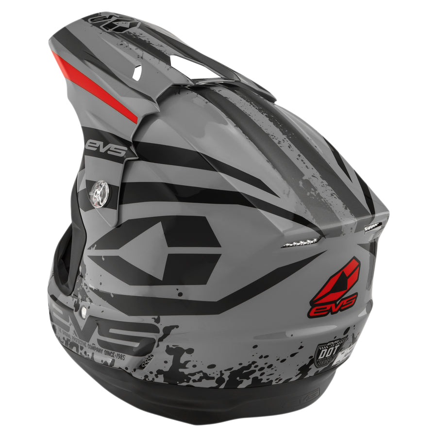 EVS Sports - T5 Helmet - Grappler Grey