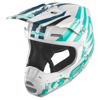 EVS Sports - T5 Helmet - Grappler Matte White