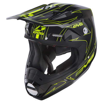 EVS Sports - T5 Helmet - Pinner HiViz
