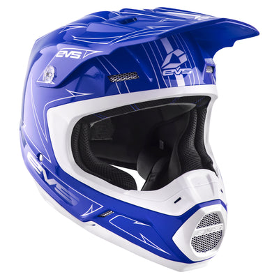EVS Sports - T5 Helmet - Pinner Blue