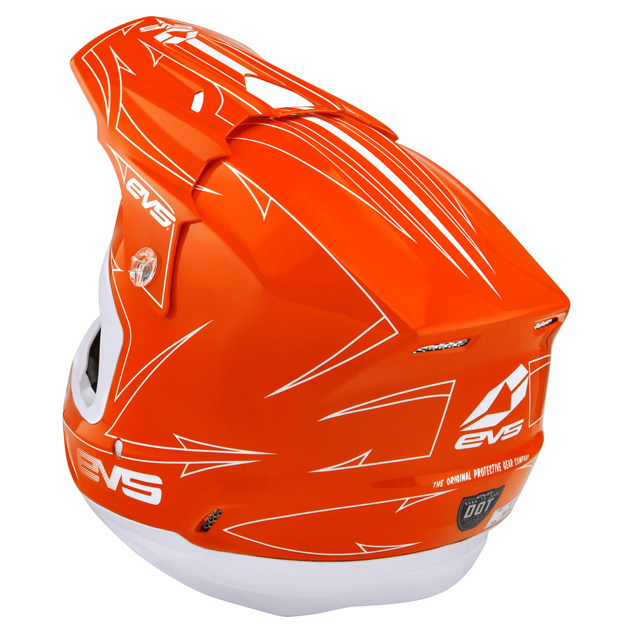 EVS Sports - T5 Helmet - Pinner Orange