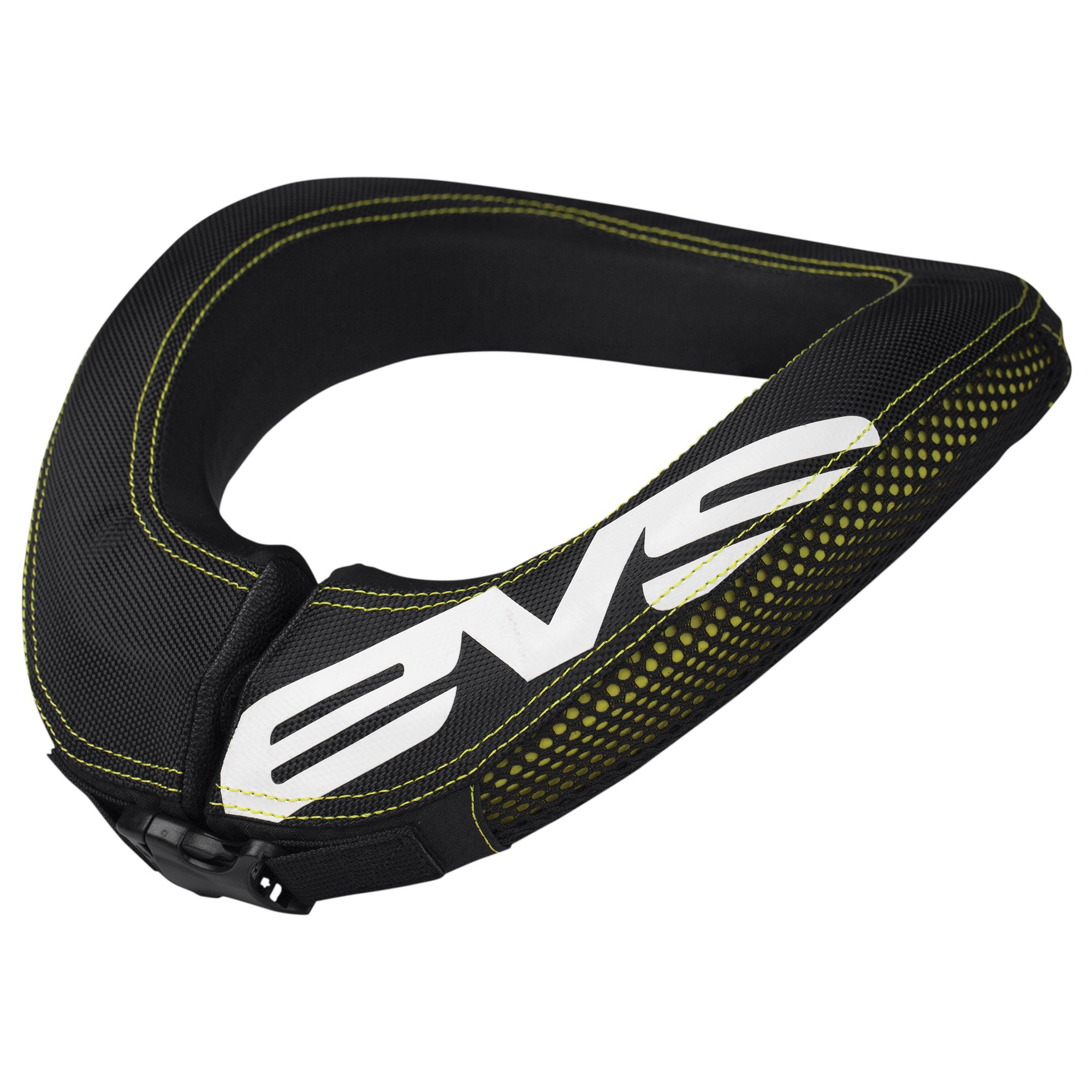 Flat Racing Neck Brace Adult Black