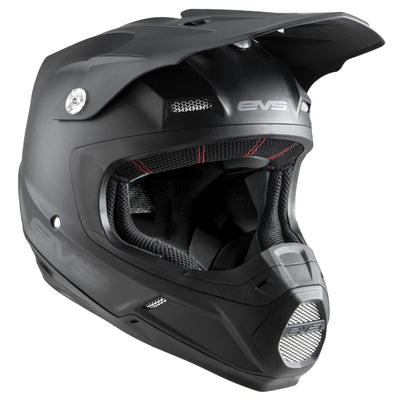 T5 Helmet - Solid Black - EVS Sports