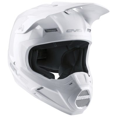 EVS Sports - T5 Helmet - Solid White