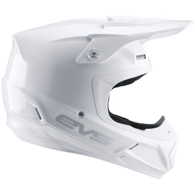 T5 Helmet - Solid White - EVS Sports