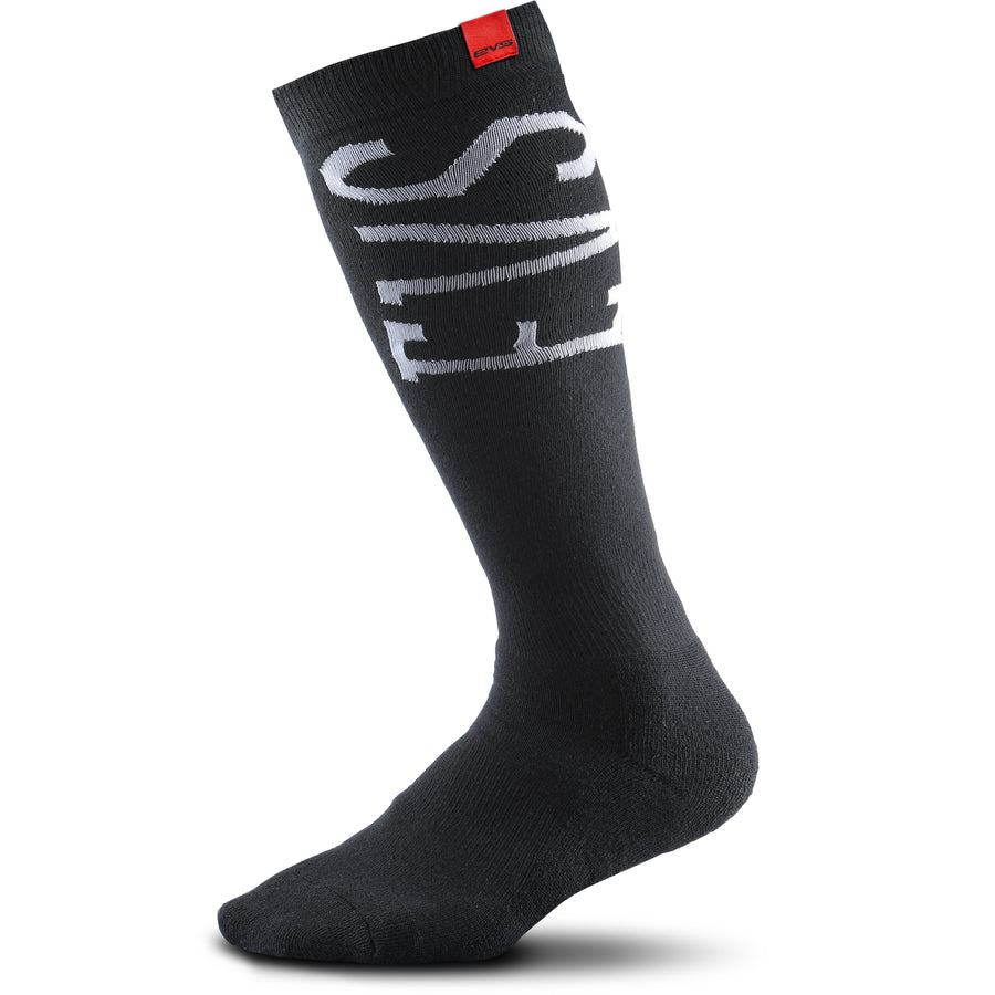 Moto Coolmax Socks - Black - EVS Sports - Motocross Protection Gear