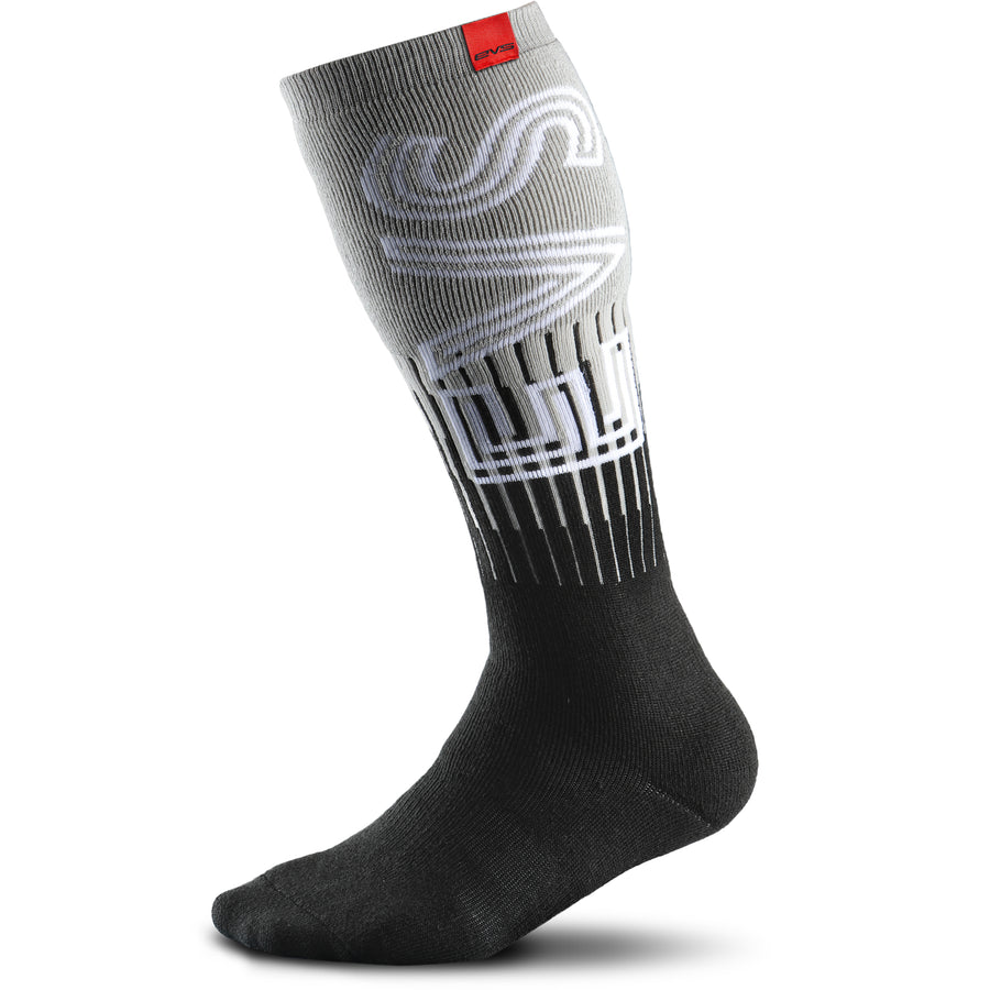 Moto Socks - Torino Black/Grey - EVS Sports - Motocross Protection Gear