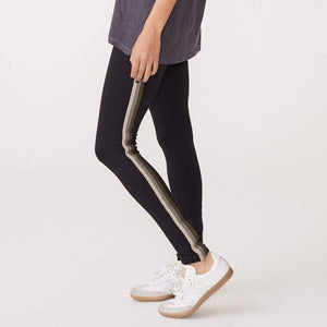 Basic Legging with Sport Stripes