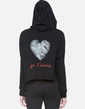 Delilah Jet'adore High Low Pullover Sweatshirt with Hood