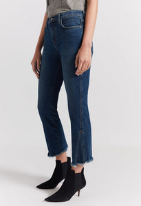 Brush Fan Kick Jeans