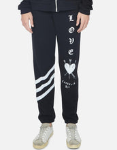 Gia Black Love Conquers All Sweatpants