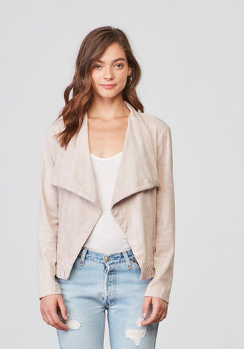 Arly Parchment Suede Jacket