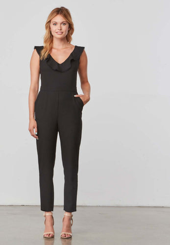 Lima Black Jumpsuit