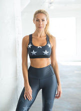 Faded Stars Support Sports Bra
