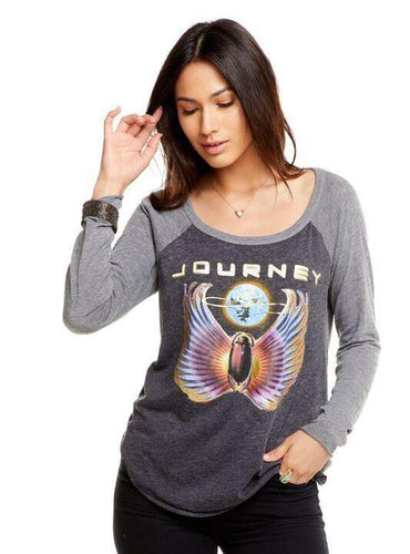 Journey Baseball Raglan