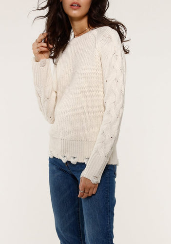 Bri Ivory Sweater