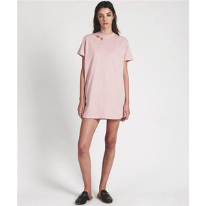 Shot Up Blush Cotton Dress
