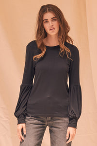 Black Flynn Blouse