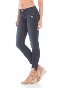 Mila Refinery Blue Step Hem Jeans